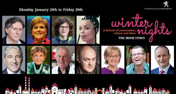 The Irish Times Winter Nights Festival takes place from Monday, January 25th to Friday, January 29th,