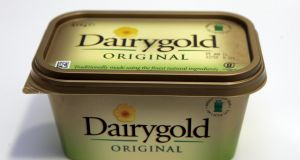 Dairygold spread is among the brands sold by Kerry Foods. Photograph: Cyril Byrne / The Irish Times