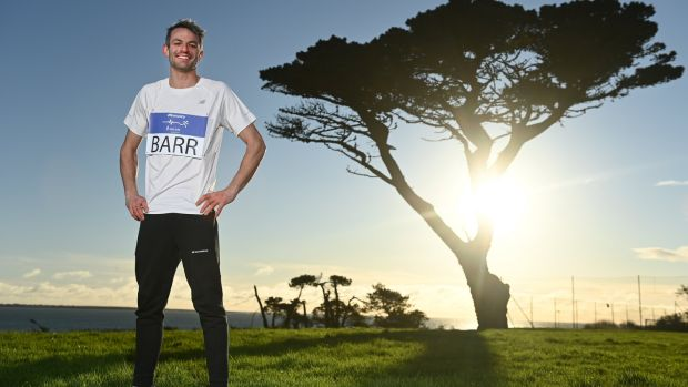 Thomas Barr: 'Consistency will help you to progress in running and it creates discipline in your routine.' Photograph: Sam Barnes/Sportsfile