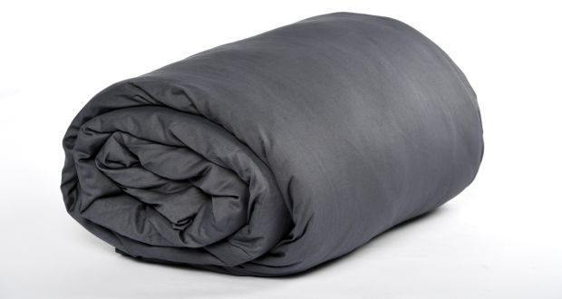 A weighted blanket – like a calming, warm hug.  Photograph:  Katherine Frey/The Washington Post via Getty