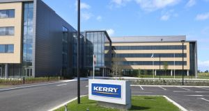 Kerry Group HQ in Naas: A disposal would help raise funds to expand its main food ingredients business through mergers and acquisitions.