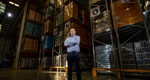 "Aaron McAleenan,  managing director at Elsatrans Ltd:  ""If I was to get another 40,000sq ft warehouse, I would fill it tomorrow."" Photograph: Tom Honan"