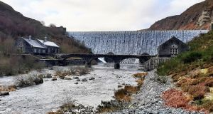 The Caban Coch Dam, in Elan Valley, Wales. Photograph: Sara Barrento