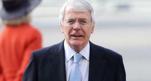 A letter from Downing Street to the Northern Ireland Office stated that John Major 'would certainly not wish the government make a formal expression of regret'. Photograph: Yui Mok/PA Wire