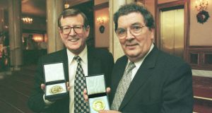In 1998, David Trimble and John Hume  were co-awarded the Nobel Peace Prize   for their efforts to secure peace in the North. Photograph: Matt Kavanagh