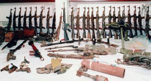 IRA arms cache.  File  Photograph: PA