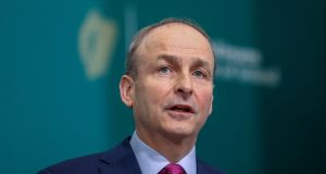 Taoiseach Micheal Martin stressed that schools would open as planned in January Photograph:, Julien Behal Photography/PA Wire