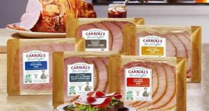 A selection of Carroll's ham products.