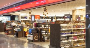 Duty-free between Ireland and Britain was abolished 21 years ago as it was not considered compatible with the emerging single market. Photograph: iStock