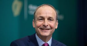 Taoiseach Micheál Martin says  while the number of homeless people has fallen, the numbers have not fallen enough. Photograph:  Julien Behal Photography/PA