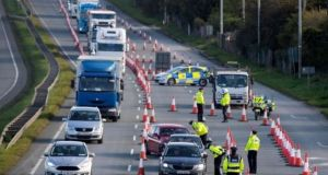 The Government may look to reintroduce the 5km travel limit. File photograph: The Irish Times