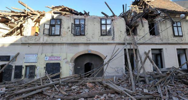 Six Killed And Many Injured As Earthquake Strikes Croatia