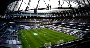 Tottenham's clash with Fulham has been postponed. Photograph: Andy Rain/PA