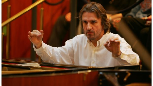 Pianist Barry Douglas received a CBE for services to music and to community relations in Northern Ireland. File photograph: Bryan O'Brien