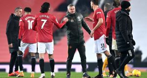 Manchester United manager Ole Gunnar Solskjaer says there has been a gradual change in mentality since he took over. Photo: Laurence Griffiths/Getty Images
