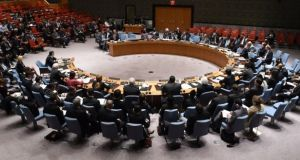 It is the fourth time Ireland has held one of the 10 rotating seats on the influential UN Security Council.
