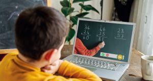 Fee-paying schools are more likely to have better learning platforms, a recent report highlighted. Photograph: iStock