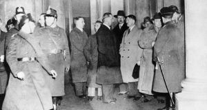 Hermann Goering,  Prince Auguste-Guillaume, Adolf Hitler and Joseph Goebbels in Berlin. Photograph: Keystone-France/ Gamma-Rapho via Getty