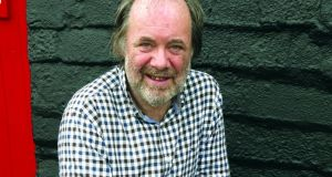 Matthew Sweeney: Defiantly reloading his chief weapons: food and music. Photograph: Bloodaxe Books