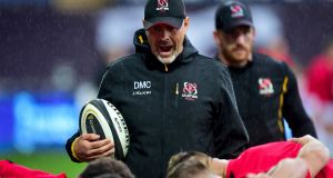 Ulster head coach Dan McFarland is looking forward to the challenge of taking on Leinster at the RDS on Friday night. Photograph: Alex James/Inpho