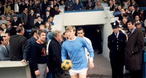 Former Manchester City and England midfielder Colin Bell has died at the age of 74, the club have announced. Photo PA Photos/PA Wire