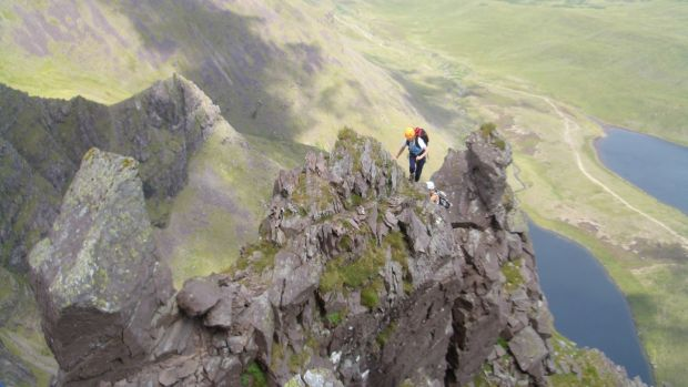 To ascend the Howling Ridge safely you need know-how and this is provided by Kerry Climbing.