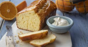 Marmalade yoghurt tea cake: delicious and simple to make. Photograph: Harry Weir