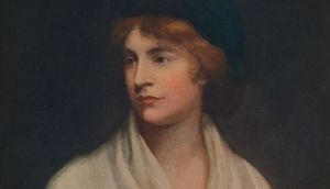 "Wollstonecraft, painted by John Opie, was disgusted at how intelligent ""society"" women were groomed for submission under marriage. Photograph: The Print Collector/Getty Images"