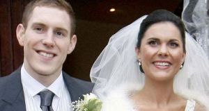 John and Michaela McAreavey are pictured on their wedding day in 2011. File photograph: Irish News/PA Wire