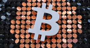 Bitcoin surged past the $40,000 (€32,652) mark this week for the first time after doubling in value in less than a month. Photograph: Nicolas Tucat/AFP