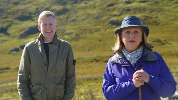 Mary McAleese with Patrick Kielty in All Walks of Life