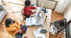 Try to prioritise the general wellbeing of the family over trying to cover a set amount of school work. Photograph: iStock