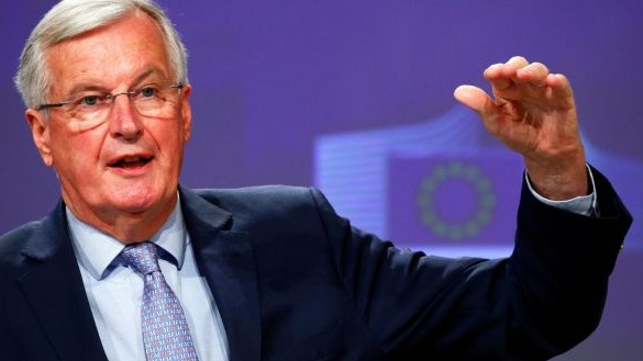 Brexit provided a reminder of the formidable collective power of the union when conditions enable that power to be unleashed. There was an extraordinary display of institutional co-operation and collaboration led by Michel Barnier. Photograph: Francois Lenoir/EPA