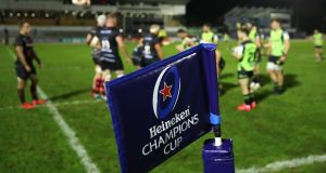 The Champions Cup has been suspended, the ECPR have confirmed. Photo: James Crombie/Inpho