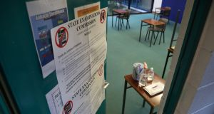 The Government has insisted it intends to hold the traditional Leaving Cert exam this summer, rather than again rely on the calculated grades system. File photograph: Nick Bradshaw