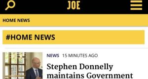 Joe.ie was formerly part of the Maximum Media group founded by Niall McGarry