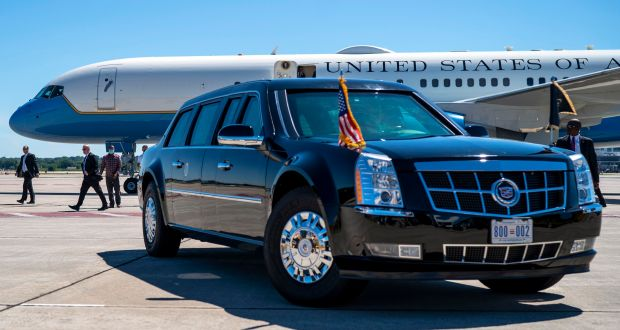 Even at $1.5m, Joe Biden's 'Beast' isn't the priciest presidential limo