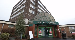 Daisy Hill Hospital in Newry, Co Down. Photograph: Liam McBurney/PA Wire