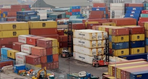 The percentage of cargo coming into Dublin Port from Britain and getting Revenue clearance to immediately enter the State has   to more than 70 per cent. Photograph: Alan Betson