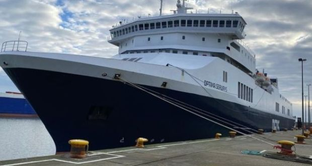 Hauliers are booked onto the new Rosslare to Dunkirk service operated by shipping line DFDS.