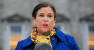 Sinn Féin president Mary Lou McDonald said the State needed to now facilitate all people who wanted to get access to records in relation to themselves and their birth. Photograph: Gareth Chaney/Collins
