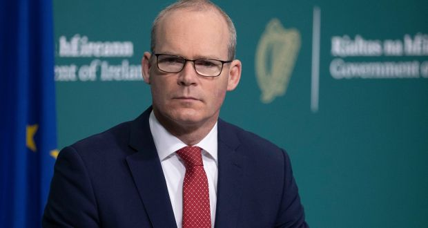 Minister for Foreign Affairs Simon Coveney. Photograph:  Julien Behal Photography.