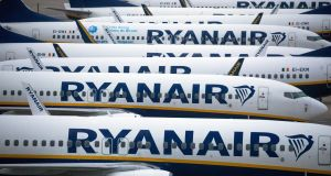 Eight out of 10 Ryanair customers said in a Which? survey that  they were dissatisfied with the refund service they received after their flight was cancelled in 2020. Photographer: Chris Ratcliffe/Bloomberg