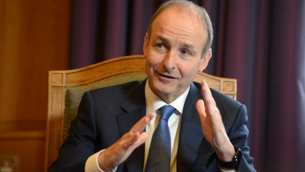 Taoiseach Micheál Martin will be in conversation with Irish Times Political Correspondent Jennifer Bray. Photograph: Dara Mac Dónaill/ The Irish Times