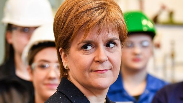 Nicola Sturgeon, first minister of Scotland. Photograph: Jeff J Mitchell/AFP/Getty Images