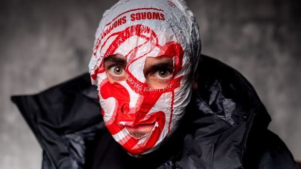 Author and podcaster Blindboy Boatclub of The Rubberbandits. Photograph: Alan Place