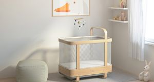 Cradlewise Smart Crib will adapt to your child, soothing them back to sleep if there are signs of waking.