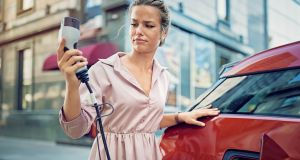 Some 70 per cent of people are keen on the idea of buying a hybrid or electric car, according to a recent survey. Photograph: iStock