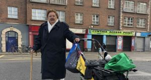 Tessie Carroll for 60 years wheeled her pram full of clothes and bric a brac from her Hill Street home to her pitch at the flea market on  Cumberland Street North.