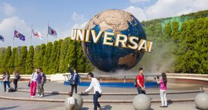 The Universal Studios Theme Park in Osaka, Japan. Photograph: iStock